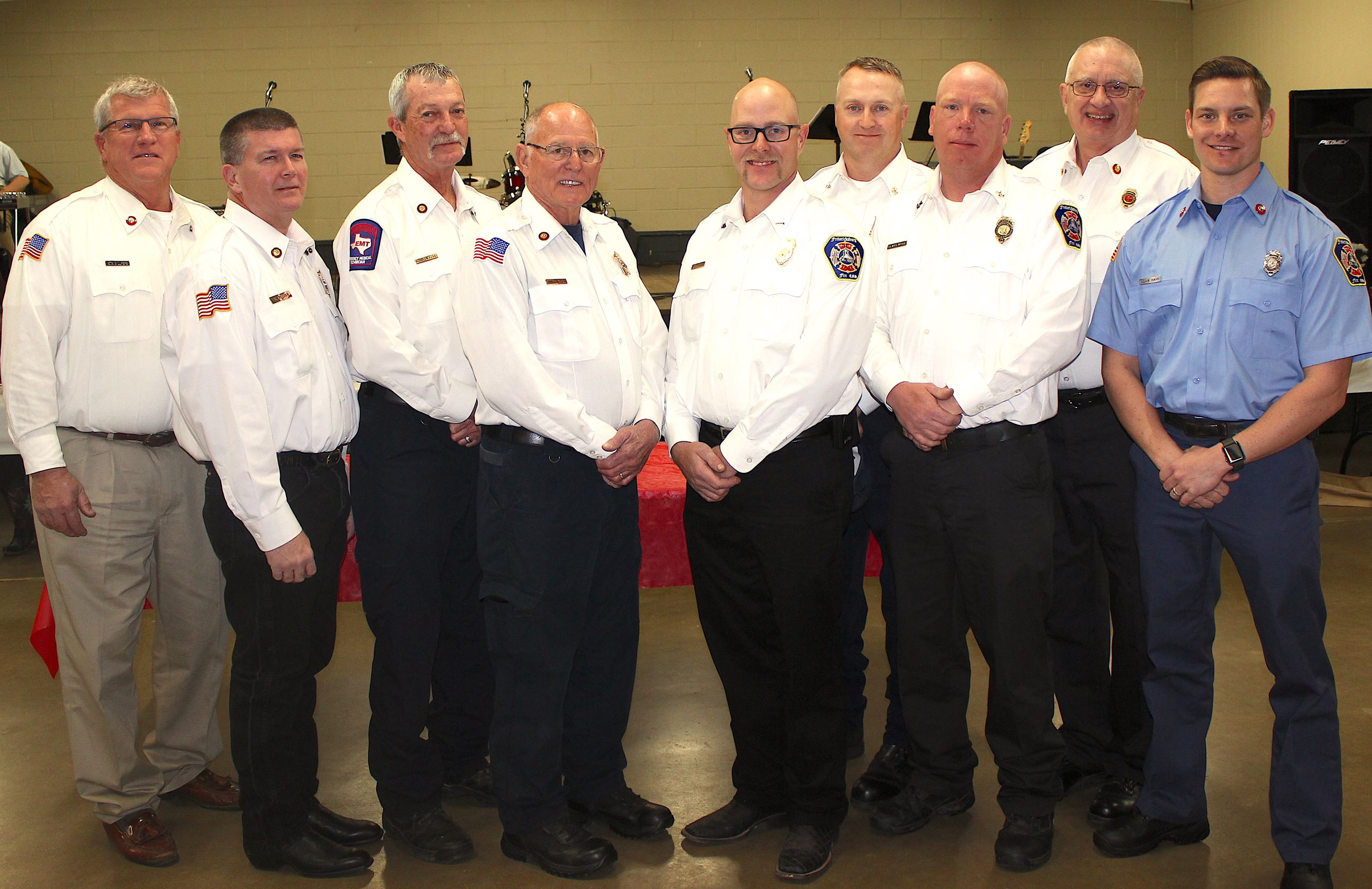 Fire Dept Officers 2018