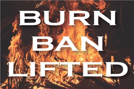 Burn-Ban-Lifted