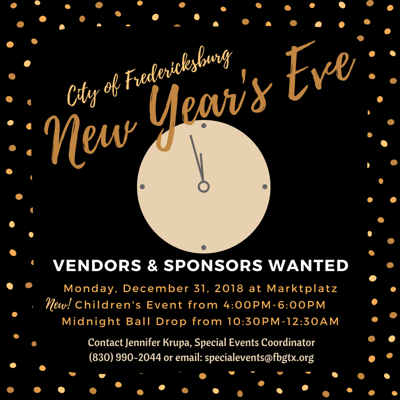 Vendors Sponsors Wanted