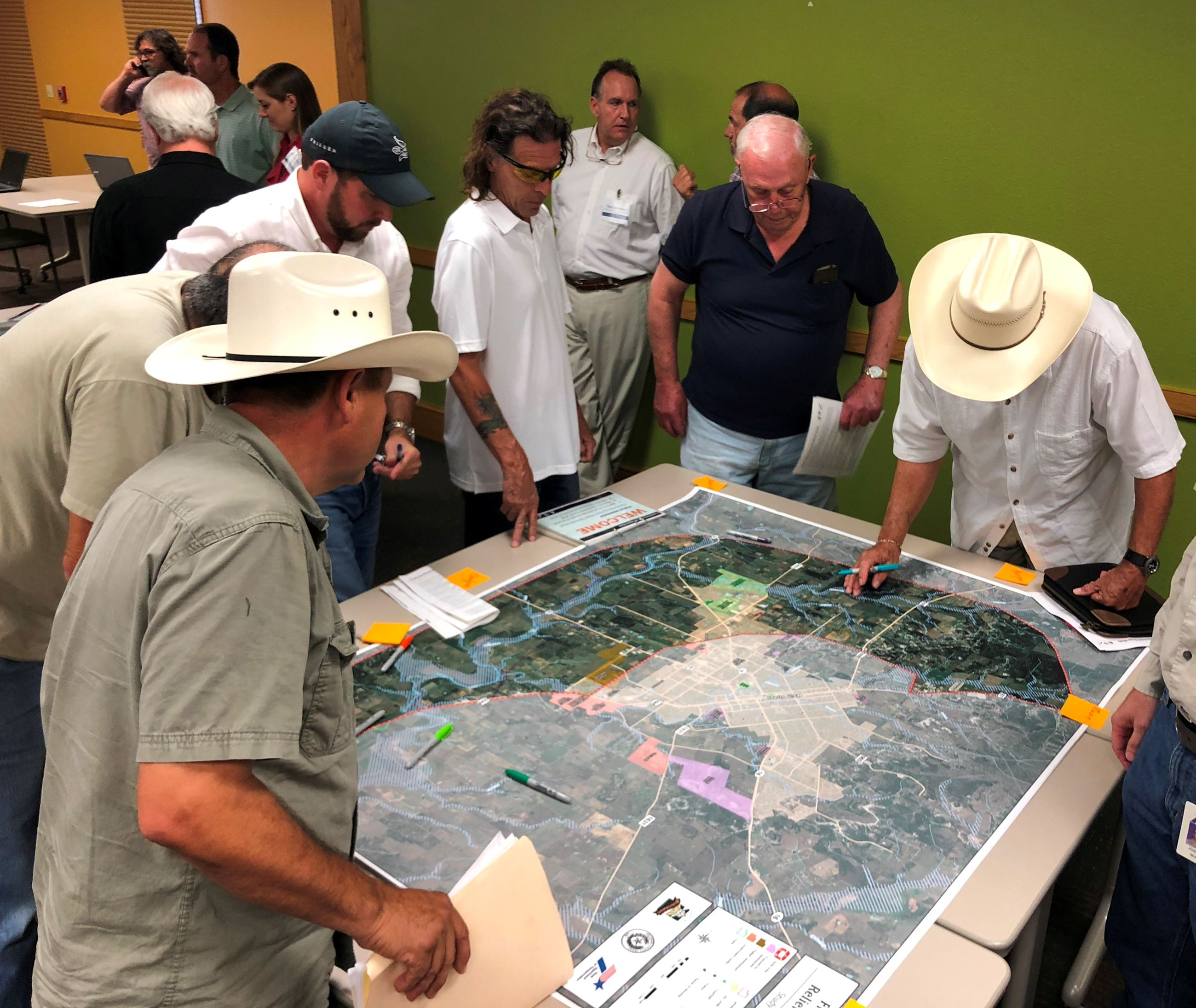 Relief Route Workshop