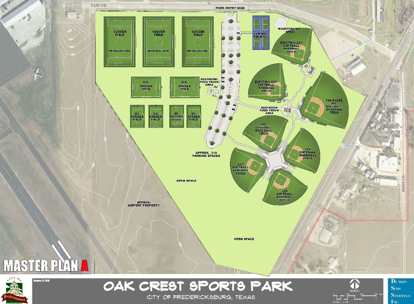 Sports Park - New Layout