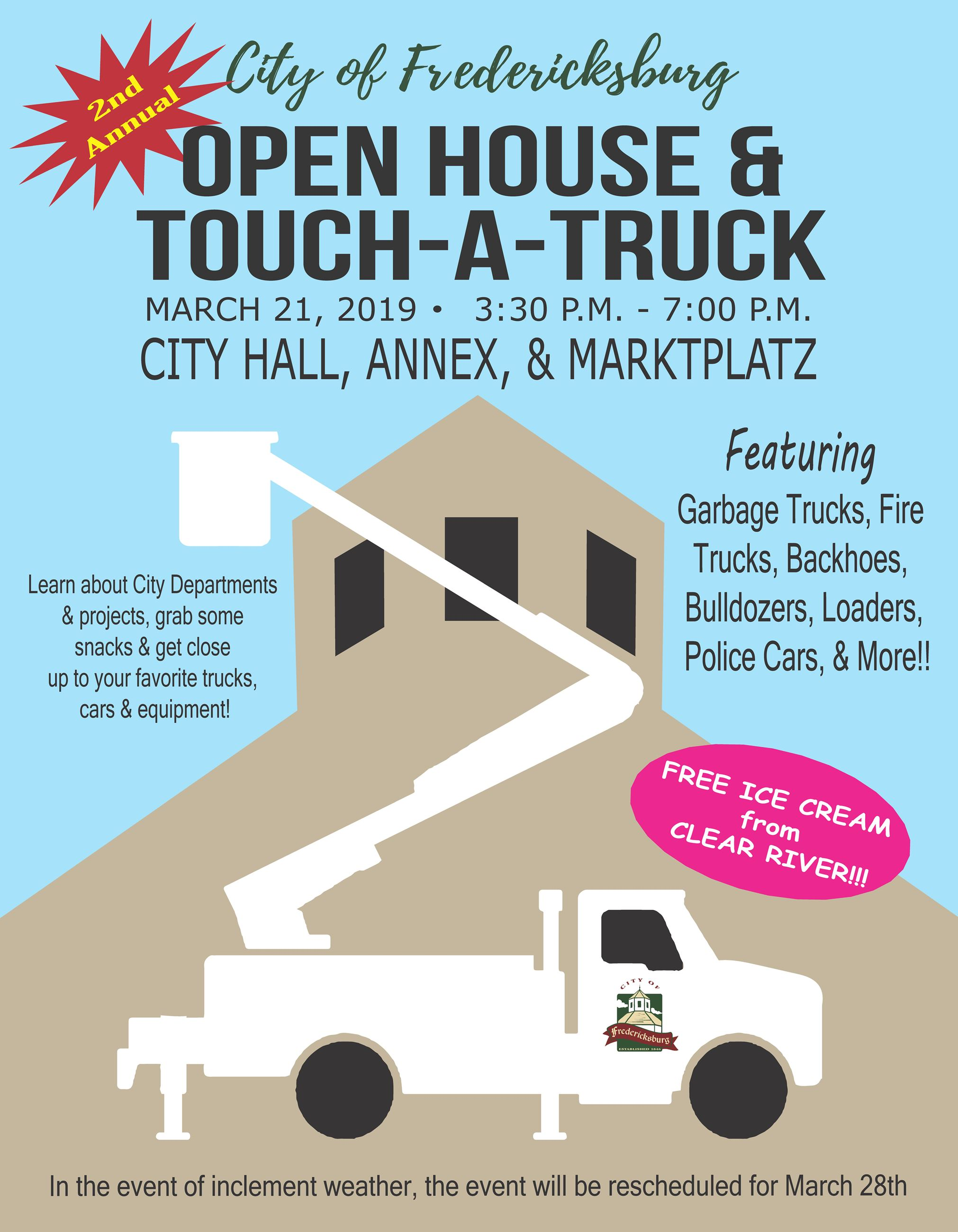 Open House and Touch-A-Truck 2019