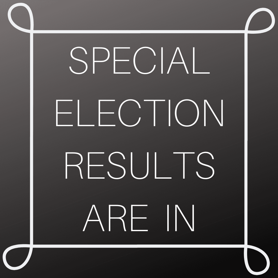 ELECTION RESULTS ARE IN