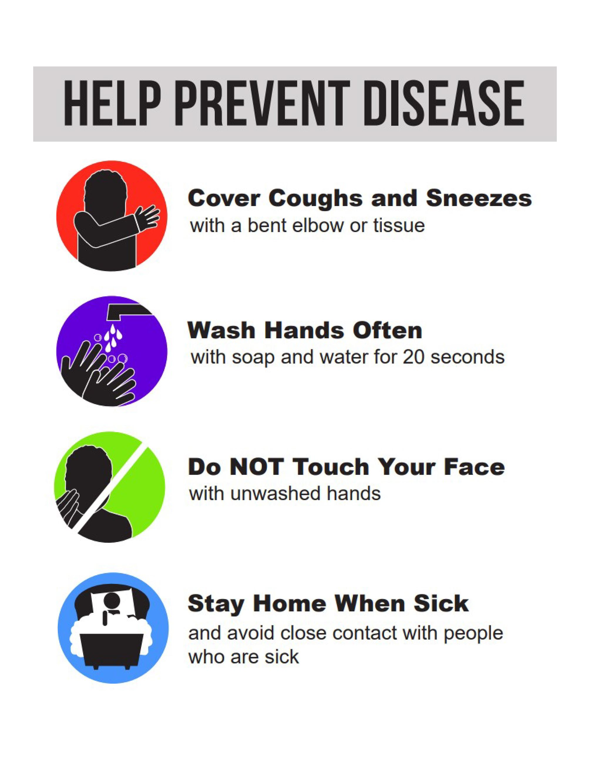 Help Prevent Disease English Covid 19