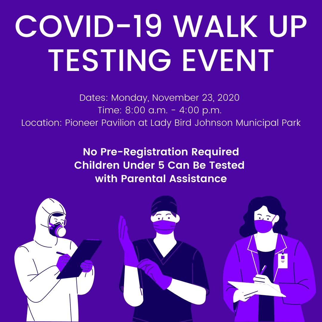 COVID19 Testing 11232020