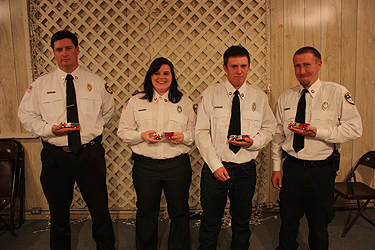 2012 FVFD Rookie Awards